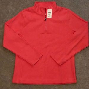 Coldwater Creek classic 1/2 zip sweatshirt